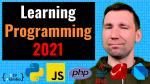 Thumbnail for 'What Programming Language to Learn First in 2021' post