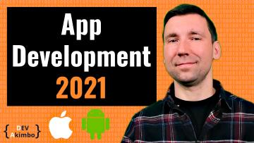 Thumbnail for 'What Programming Language to Learn for App Development in 2021' post