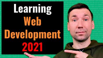 Thumbnail for 'What Programming Language to Learn for Web Development in 2021' post